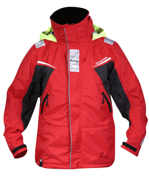 Rooster Sailing Jacket Red