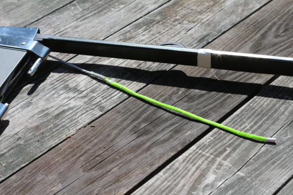 laser-tapered-rudder-downhaul-line