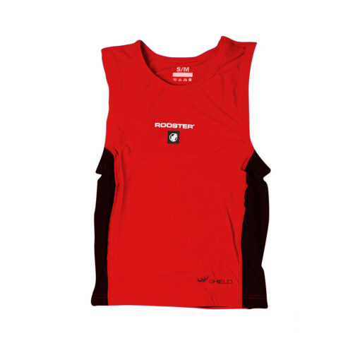 Rooster Race Bib Red